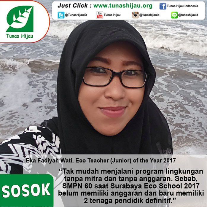 Eka Fadiyah Wati, Eco Teacher (Junior) Of The Year 2017