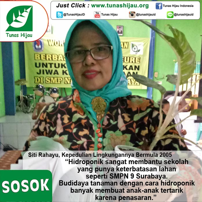 Siti Rahayu, Kepedulian Lingkungannya Bermula 2005