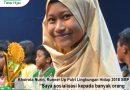 Khoirota Nurin, Runner Up Putri Lingkungan Hidup 2018 SMP