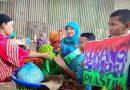 Buru Berkah Puasa, SMPN 11 Surabaya Kampanye Lingkungan di  Pasar Pegirian