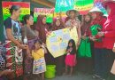 Tim LH SMPN 11 Surabaya Bakti Sosial di Kampung Adopsi Sawah Pulo Wetan