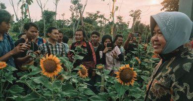 Walikota Risma Resmikan Taman-Taman Baru Surabaya di Taman Harmoni