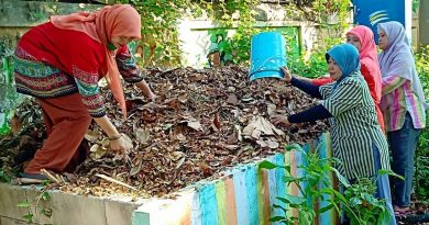 Olah Sampah ala SMPN 11 Surabaya Paska Libur Lebaran