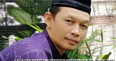 Arif Dwi Susanto, Penggiat Ecopreneur dan Zero Waste SDN Rungkut Menanggal I