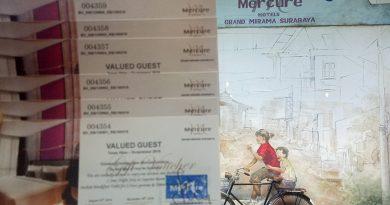 Voucher Menginap Hotel Mercure Grand Mirama untuk Individu Terbaik Ecopreneur 2019