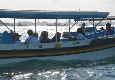 Penangkaran Penyu dan Garuda Wisnu Kencana, Hari I di Pulau Dewata