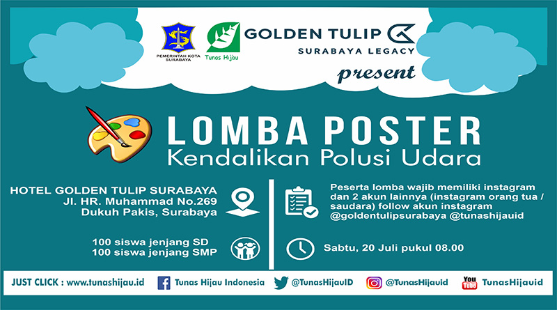 Ikutilah Lomba Poster Pengendalian Polusi Udara Sd Dan Smp