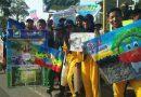 Peserta Kemah Hijau Surabaya 2019 Kampanye Pengendalian Polusi Udara