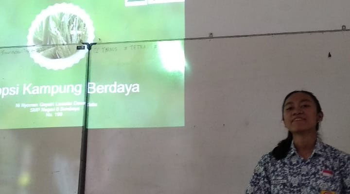 Beragam Proyek Dipresentasikan Calon Pangeran dan Puteri LH 2019 SMP