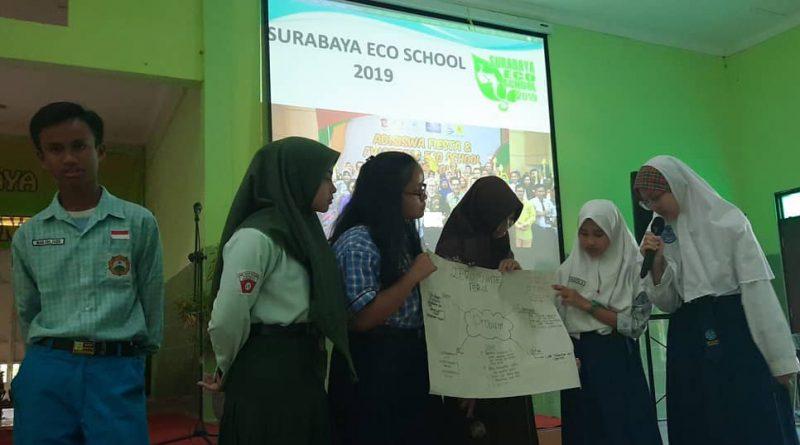 Sekolah Pendatang Siap Berkiprah pada Surabaya Eco School 2019
