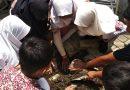 Aksi Pembuatan Biopori di SDN Medokan Semampir I