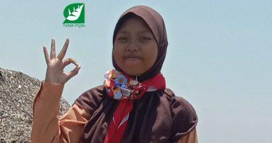 """Anggun Wulan Ramadhani, Puteri """"Hidroponik Botol"""" LH 2019"""