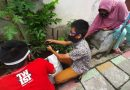 Marcelino Pantau Tanaman Pemberiannya di Kampung Jetis Kulon
