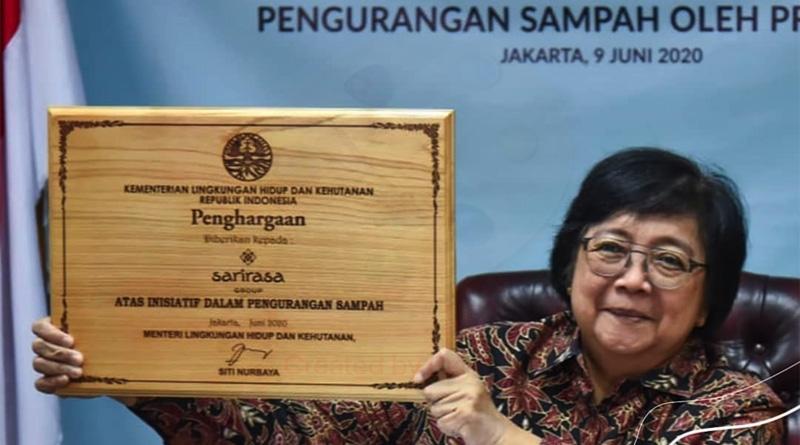 Menteri LHK Apresiasi Perusahaan Peduli Sampah