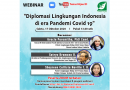 """Ayo Ikut Webinar """"Diplomasi LH Indonesia Era Pandemi COVID-19"""""""