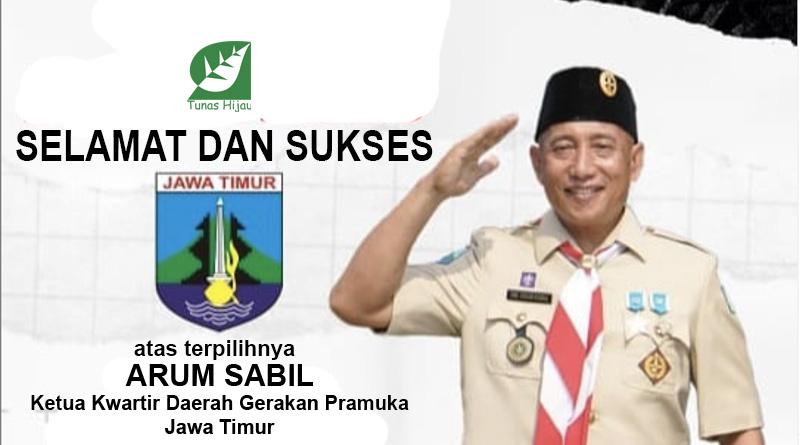 Arum Sabil Ketua Kwartir Daerah Pramuka Jatim