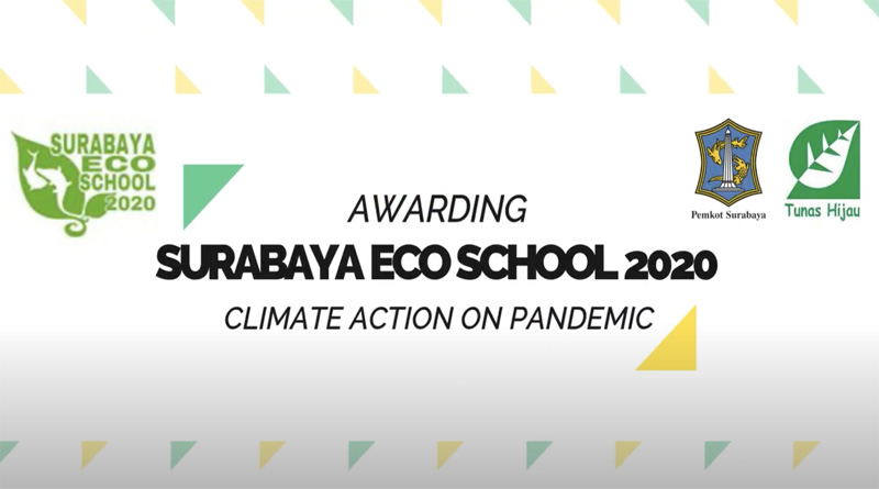 Awarding Surabaya Eco School 2020