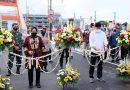 Mensos Risma dan Wali Kota Eri Cahyadi Resmikan Jembatan Sawunggaling