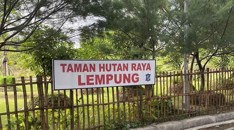 Taman Hutan Raya Lempung Solusi Atasi Banjir Surabaya Barat