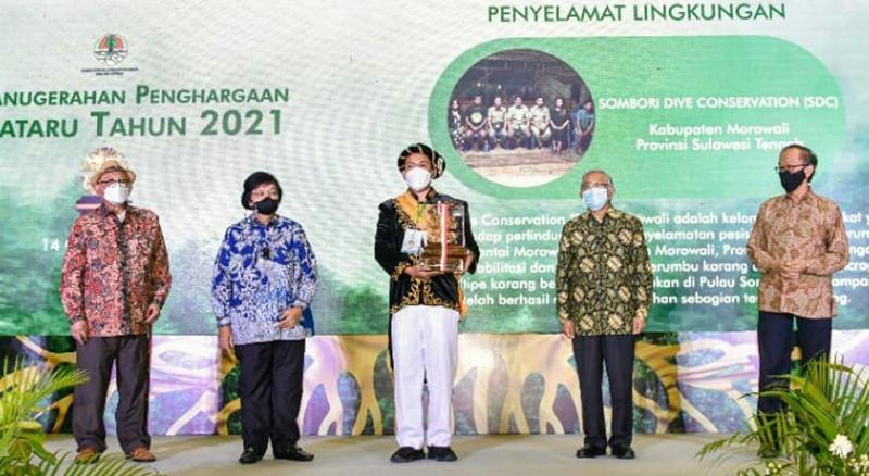 Penghargaan Kalpataru 2021 Dianugerahkan